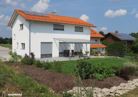 Neubau: Einfamilienhaus in Holzbauweise 2c