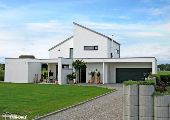 Neubau: Einfamilienhaus in Massivbauweise Ytong 3a
