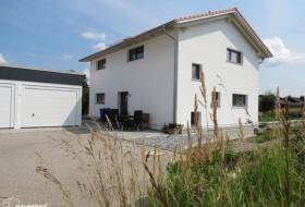Neubau: Einfamilienhaus in Holzbauweise 2a