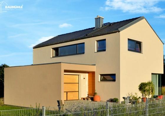 Neubau: Einfamilienhaus in Massivbauweise (Ytong) 5a