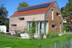 Neubau: Passivhaus in Holzriegelbauweise 6b