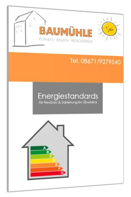 Broschüre Energiestandards