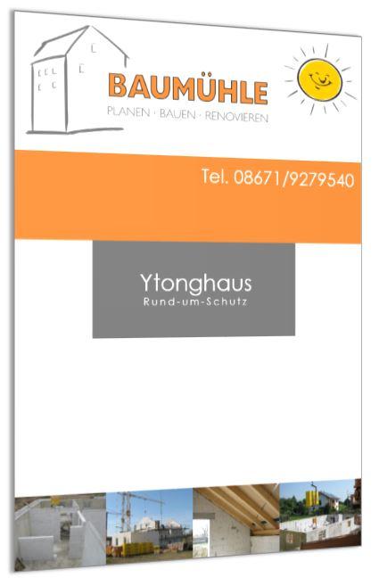 Broschüre Ytonghaus