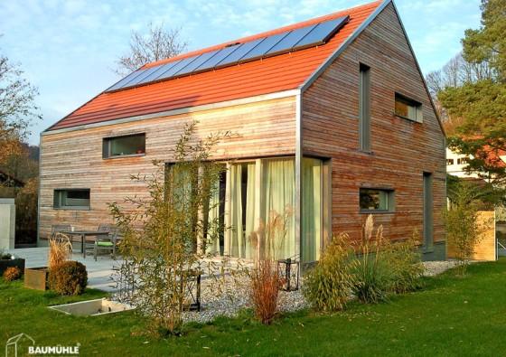 Neubau: Passivhaus in Holzriegelbauweise 6a