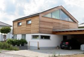 Neubau: Einfamilienhaus in Massiv-Holz-Bauweise 7b