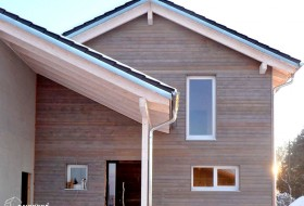 Neubau: Einfamilienhaus in Massiv-Holz-Bauweise 4b