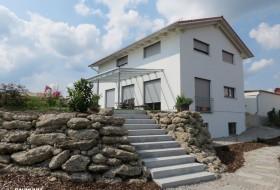 Neubau: Einfamilienhaus in Holzbauweise 2b